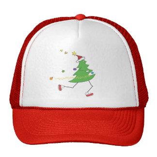 Christmas Tree Runner Trucker Hat