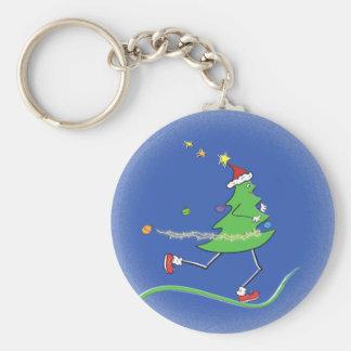 Christmas Tree Runner Key Chain