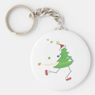 Christmas Tree Runner Key Chains