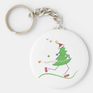 Christmas Tree Runner Keychain