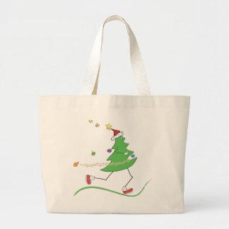 Christmas Tree Runner Tote Bags