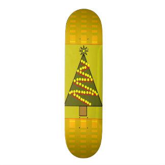 Christmas Tree Skateboard