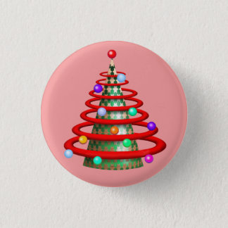 CHRISTMAS TREE SMALL BUTTON 1¼ Inch