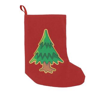 Christmas tree small christmas stocking