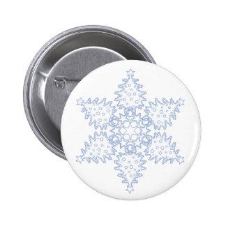 Christmas Tree Snowflake Buttons