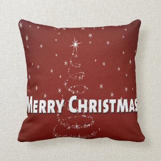 Christmas Tree Snowflakes Cushion
