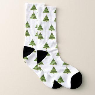 Christmas Tree Socks 1