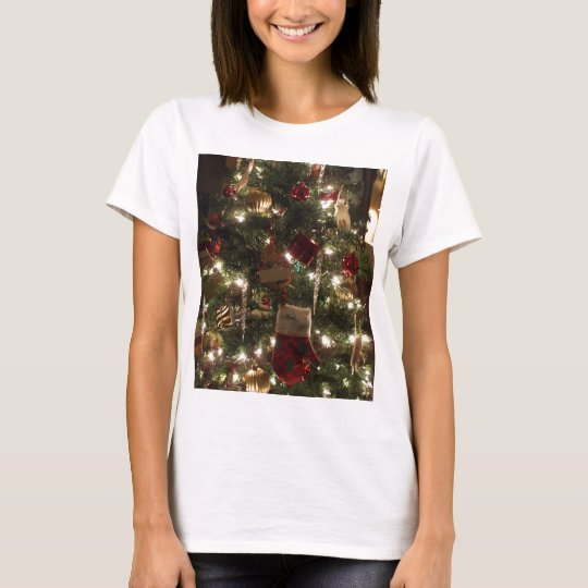 christmas tree sparkles T-Shirt
