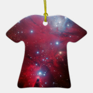 Christmas Tree Star Cluster Ceramic T-Shirt Decoration