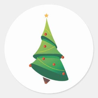 Christmas Tree Sticker