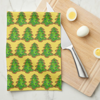 Christmas Tree Sugar Cookie Baking Holiday Xmas Tea Towel