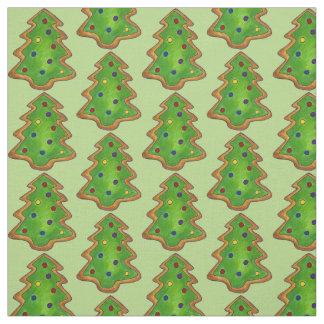Christmas Tree Sugar Cookie Fabric