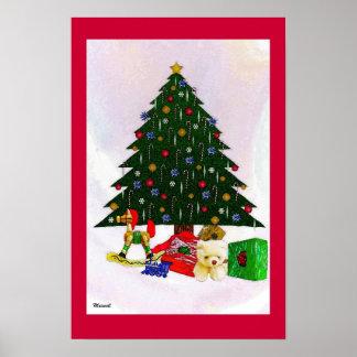 Christmas Tree Surreal Photo Art Prints Poster