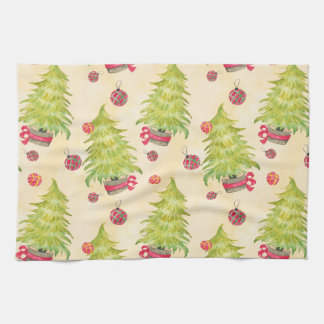 Christmas Tree Tea Towel