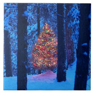 Christmas Tree Tile Trivet