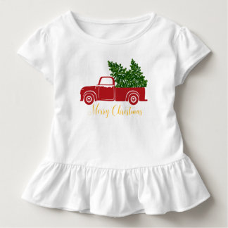Christmas tree truck Toddler T-Shirt