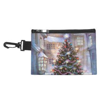 Christmas Tree Vintage Accessories Bag