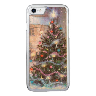 Christmas Tree Vintage Carved iPhone 7 Case