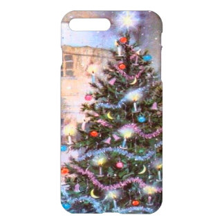 Christmas Tree Vintage iPhone 7 Plus Case