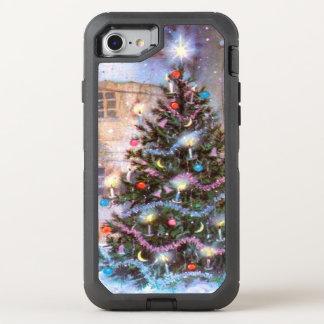 Christmas Tree Vintage OtterBox Defender iPhone 7 Case