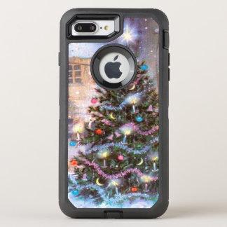 Christmas Tree Vintage OtterBox Defender iPhone 7 Plus Case