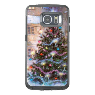 Christmas Tree Vintage OtterBox Samsung Galaxy S6 Edge Case