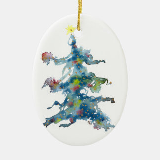 Christmas Tree, Whimsical, Ornament