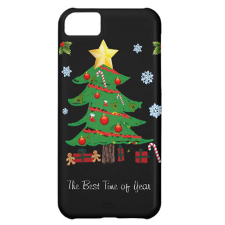 Christmas Tree with Gifts Holiday iPhone 5 Case