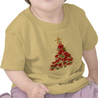 Christmas Tree with Ornaments T-shirt