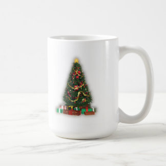 Christmas Tree with Presents: Coffee Mug