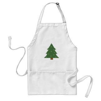 Christmas tree with stars standard apron