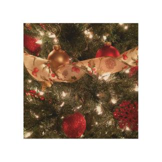 Christmas Tree Wood Wall Art