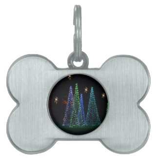 Christmas Trees 2016 Pet Tag