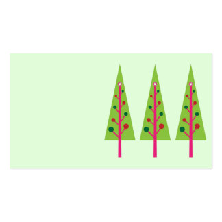 Christmas Trees Business Cards