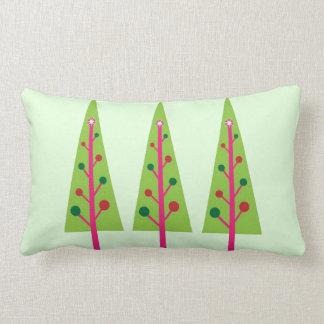 Christmas Trees Throw Pillows