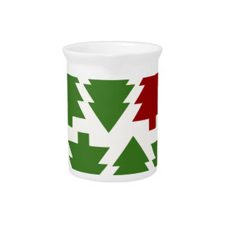 Christmas Trees Holiday Pitcher