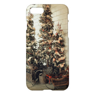 Christmas Trees of the Past iPhone 7 Case