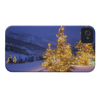 Christmas trees, Park City, Wastch Mountains, Case-Mate iPhone 4 Case
