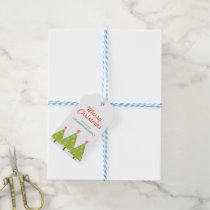 Christmas Trees Personalized Gift Tags Pack Of Gift Tags