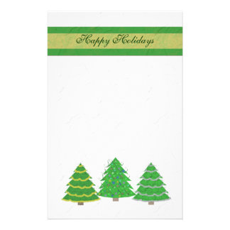 Christmas Trees Stationery
