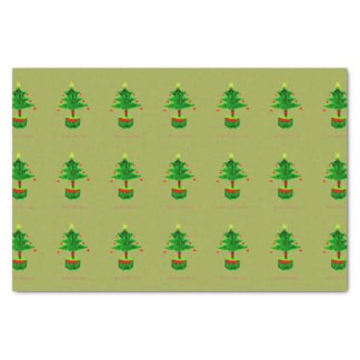 Christmas Trees Tissue Paper