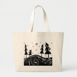 Christmas Trees Tote Bags