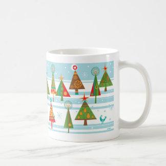 Christmas Trees Wonderland Mug