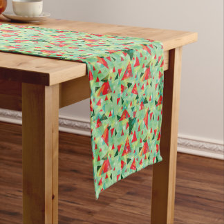 Christmas Triangles Table Runner