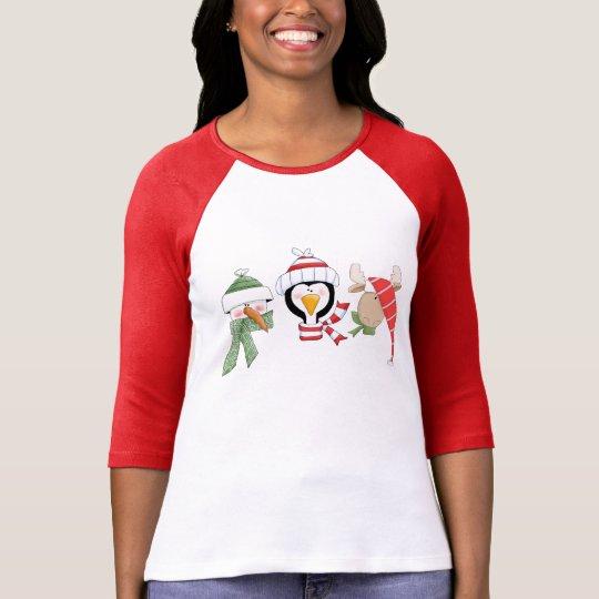 Christmas Trio Animals T-Shirt