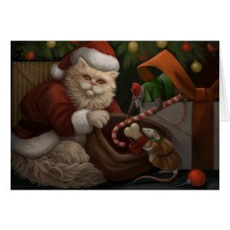 Christmas Trio Holiday Greeting Card