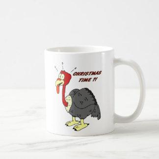 Christmas Turkey Basic White Mug