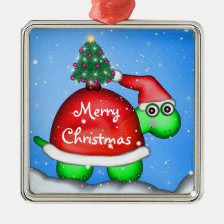 Christmas Turtle Christmas Ornament
