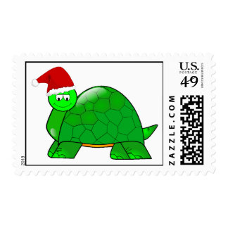 Christmas Turtle Postage