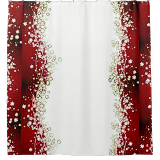 Christmas Twinkle Shower Curtain